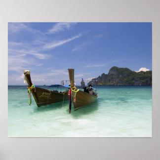 Thailand, Phi Phi Don Island, Yong Kasem beach, Poster