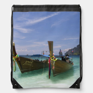 Thailand, Phi Phi Don Island, Yong Kasem beach, Rucksacks
