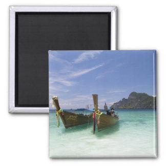 Thailand, Phi Phi Don Island, Yong Kasem beach, Square Magnet