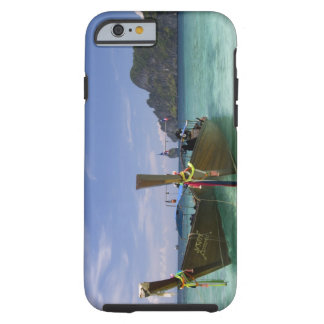 Thailand, Phi Phi Don Island, Yong Kasem beach, Tough iPhone 6 Case
