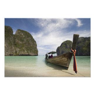 Thailand, Phi Phi Lay Island, Maya Bay. Photo Art