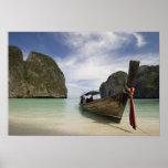 Thailand, Phi Phi Lay Island, Maya Bay. Poster
