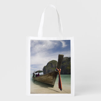 Thailand, Phi Phi Lay Island, Maya Bay. Reusable Grocery Bag
