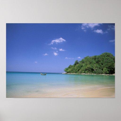 Thailand, Phuket Island. Beach. Print