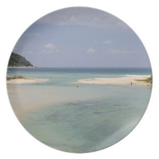 Thailand, Phuket, Nai Harn beach. Plate