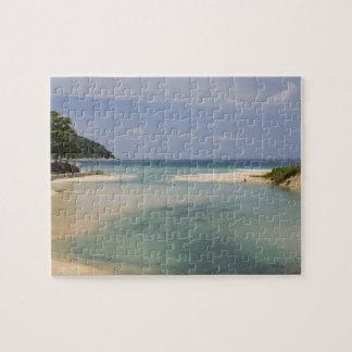 Thailand, Phuket, Nai Harn beach. Puzzles