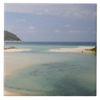 Thailand, Phuket, Nai Harn beach. Tile