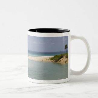 Thailand, Phuket, Nai Harn beach. Two-Tone Coffee Mug