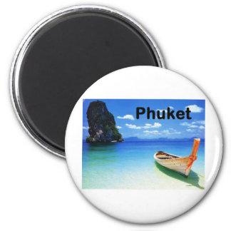 Thailand Phuket (St.K) 6 Cm Round Magnet