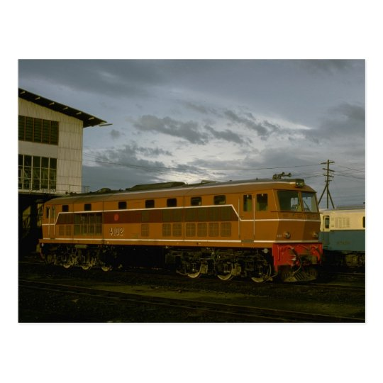 Thailand, RS Rys diesel road unit Postcard