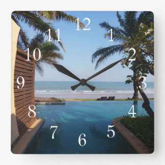 Thailand Spa Clock