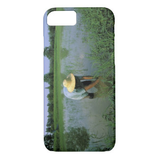 Thailand, Sukhothai. Rice farmer. MR. iPhone 8/7 Case