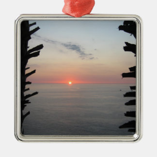 Thailand Sunset Nearing Dusk Christmas Ornament