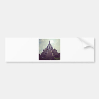 Thailand temple bumper sticker