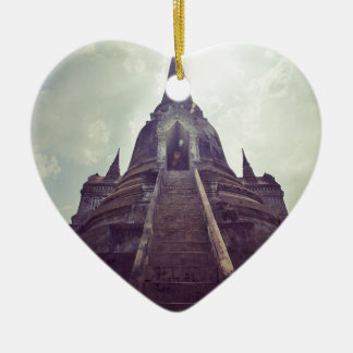 Thailand temple christmas ornament