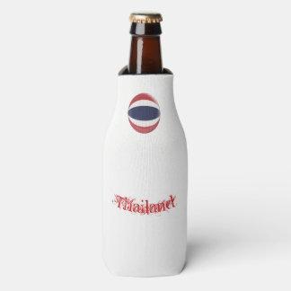 Thailand Thai Flag Bottle Cooler