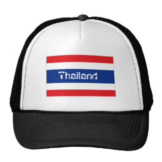 Thailand thai flag souvenir hat