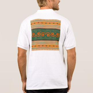 Thailand Traditional Patterns   Decorative art Polo T-shirt