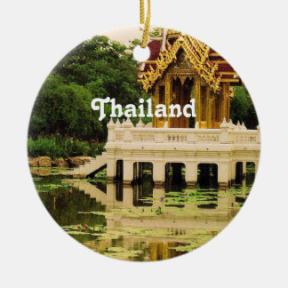 Thailand Water Garden Christmas Ornament