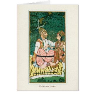 Thalaba and Oneiza Card