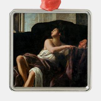 Thalia, Muse of Comedy Christmas Ornament