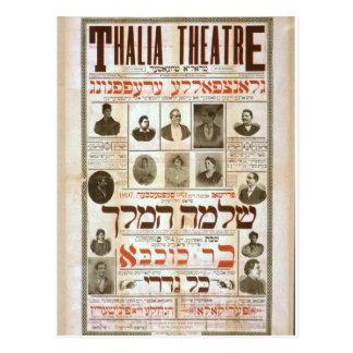 Thalia Theatre Vintage Theater Postcard