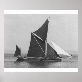 Thames Barge Race 1975, Sirdar Poster