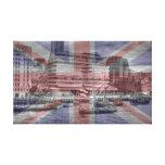 Thames Barges Tower Bridge 2012 Gallery Wrap Canvas