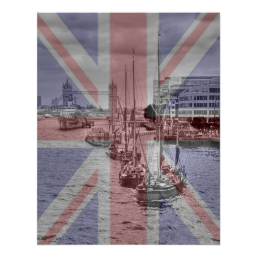 Thames Barges Tower Bridge 2012 Posters