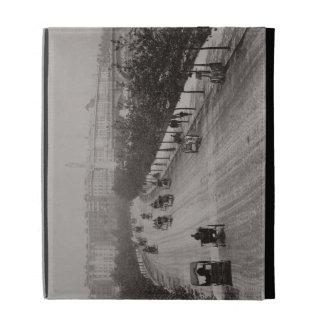 Thames Embankment (sepia photo) iPad Folio Cases