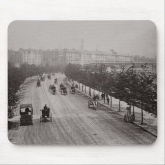 Thames Embankment (sepia photo) Mouse Pad