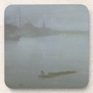 Thames - Nocturne in Blue and Silver, c.1872/8 (oi Coaster