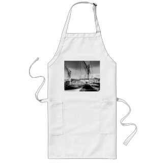 Thames sailing barges long apron