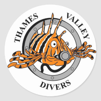 Thames Valley Divers sticker