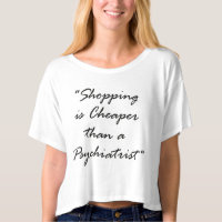 Than a psychiatrist crop cheaper top are shop tee shirt