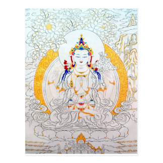 THANGKA PAINTING TIBET ART POSTCARD
