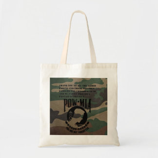 Thank A Soldier Budget Tote Bag