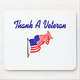 Thank A Veteran (2) Mouse Pad
