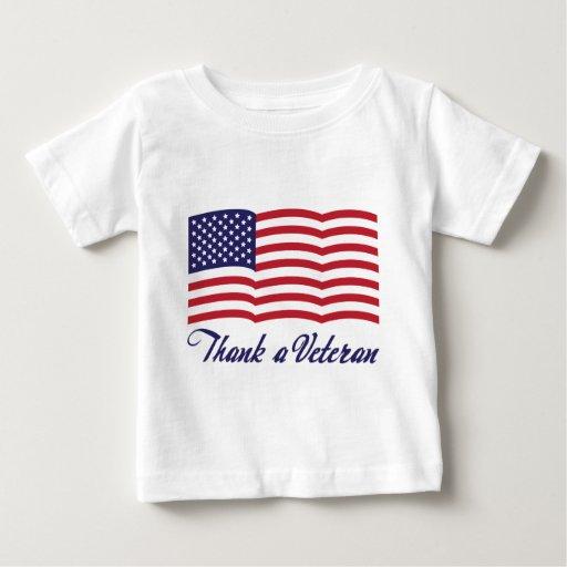 Thank a Veteran Baby T-Shirt