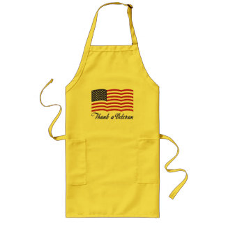 Thank a Veteran Long Apron