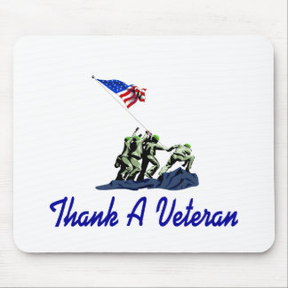 Thank A Veteran Mouse Pad