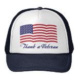 Thank a Veteran Trucker Hats