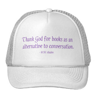 Thank God For Books As An Alternative Cap