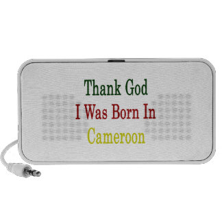 Thank God I Was Born In Cameroon Mp3 Speakers