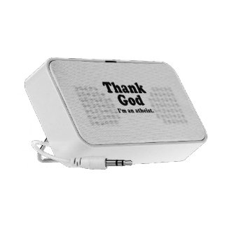 Thank god I'm an atheist PC Speakers