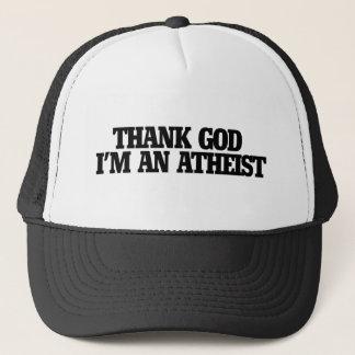 Thank god I'm an atheist Trucker Hat