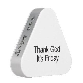 Thank God It's Friday Speaker