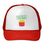 Thank God It's Fry Day! with Cute French Fries Hat