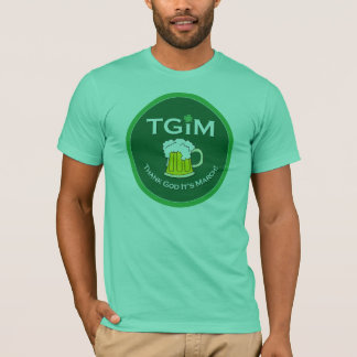 Thank God It's March St. Paddy's Day t-shirt