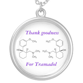 Thank goodness for Tramadol Round Pendant Necklace